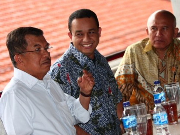 Respon Anies dan Istana Wapres Soal Campur Tangan Jusuf Kalla di Pilkada DKI