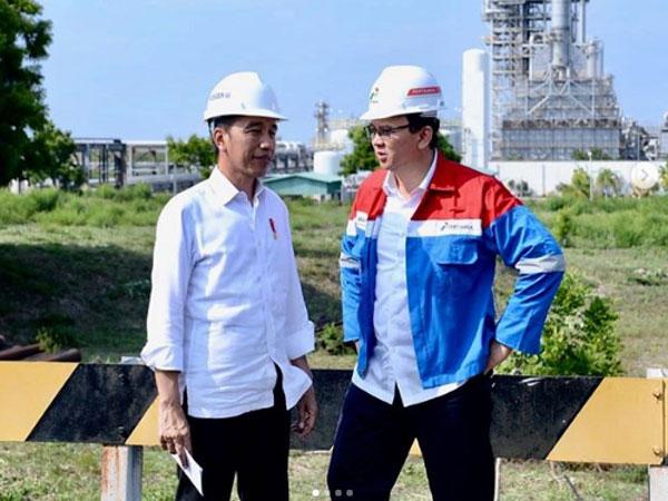 Via Anak Perempuannya: Pak Ahok, Dicariin Presiden Jokowi Kok Tidak Ada?