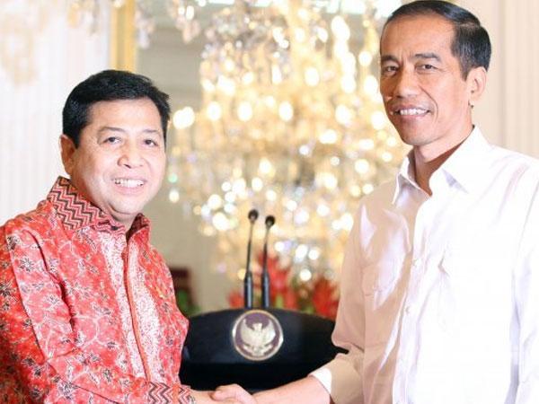 Jokowi Angkat Bicara Soal Kecelakaan Setya Novanto