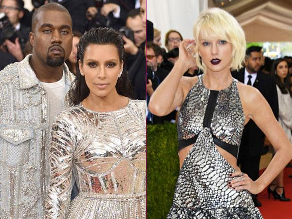 Dihina oleh Kanye West, Taylor Swift Balas Serang Kim Kardashian