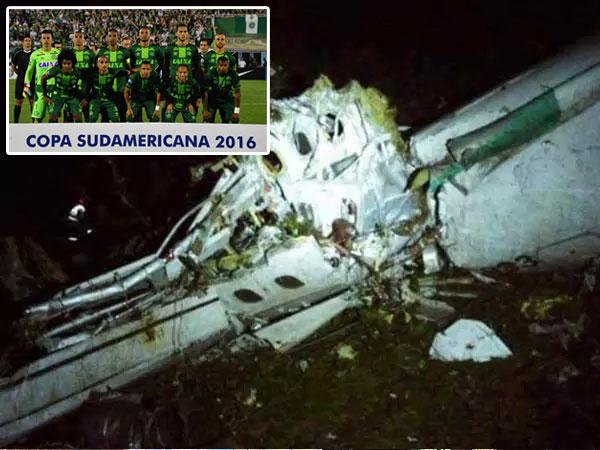 Pesawat Tim Sepak Bola Brasil Jatuh, 76 Penumpang Tewas