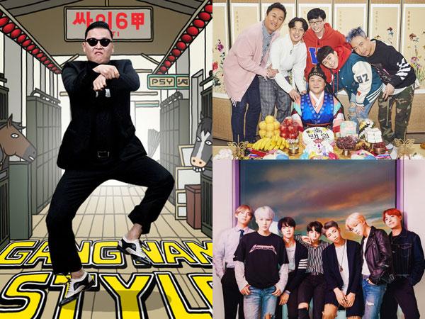 Beri Pengaruh Luar Biasa, Inilah Hits Terbesar dalam Sejarah Hiburan Korea Pilihan Pakar