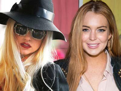 Lohan Ikut Aktif dalam Lagu Lady Gaga
