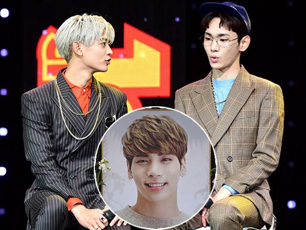 Potret Kesedihan Minho dan Key Saat Bertugas di Rumah Duka Jonghyun SHINee