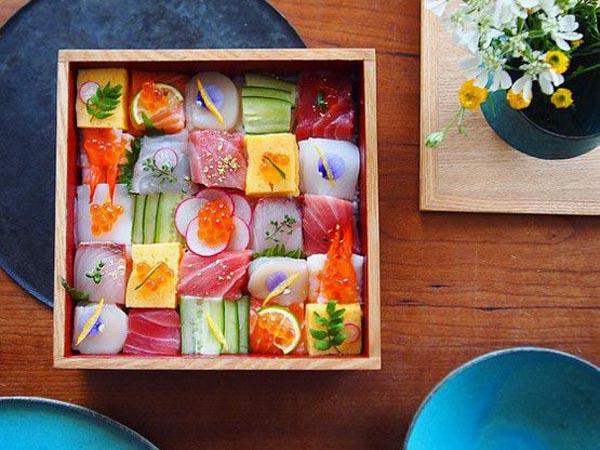Sushi Mosaik, Kreasi Sederhana yang Kini Tengah Jadi Tren di Media Sosial