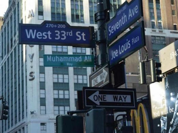 Beri Penghormatan, Muhammad Ali Dijadikan Nama Jalan Di New York