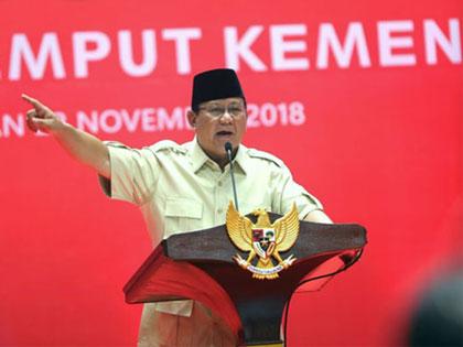 Lagi, Prabowo Tegas Berjanji Akan Jemput Habib Rizieq Pakai Pesawat Pribadi