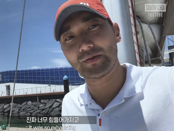 Siwon Mabuk Laut Saat Berlayar untuk Syuting Program Baru