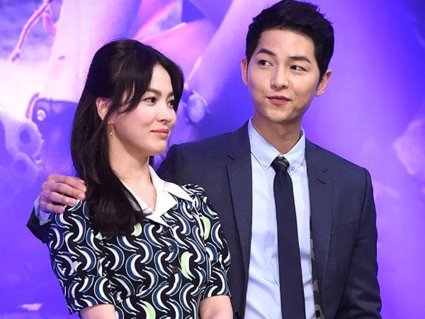 Song Joong Ki dan Song Hye Gyo Kenakan Gelang Serupa, Rumor Pacaran Muncul?
