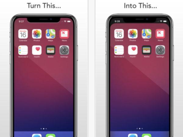 Begini Cara Pengguna Mengakali Tampilan Layar iPhone X yang Aneh