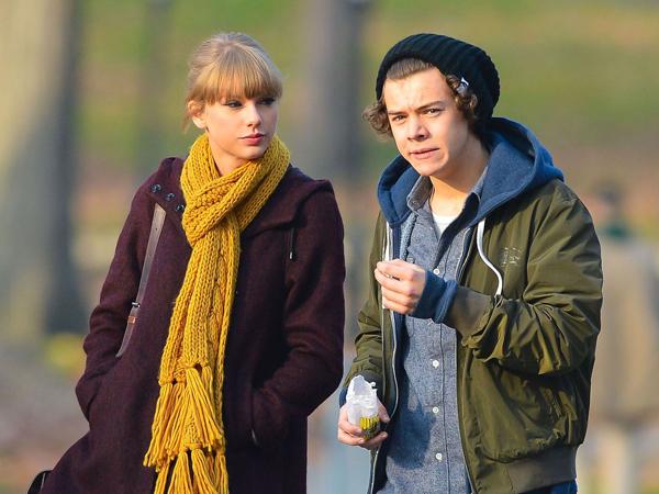 Wah, Harry Styles Juga Buat Lagu Tentang Taylor Swift di Album Baru One Direction?