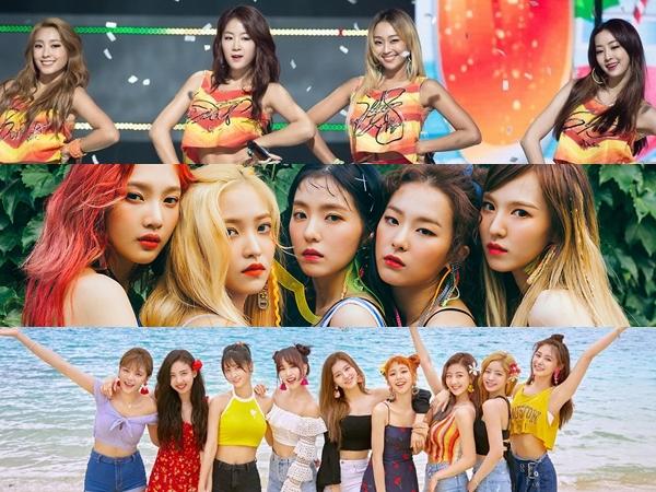 5 Lagu Girl Group K-Pop Musim Panas Terbaik