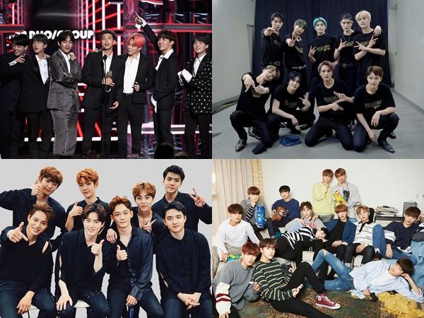 Twitter Korea Rilis Daftar Artis K-Pop dan Hashtag Paling Populer Sepanjang Tahun 2019