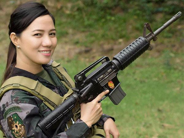 Tengok Kisah Inspiratif Polisi Tercantik di Filipina, Jane Lee!