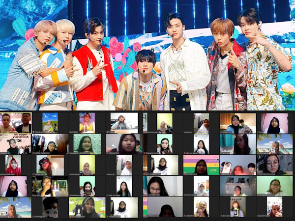 Intip Keseruan NCT Dream Anniversary Online Party Tadeo x Dreamers Radio