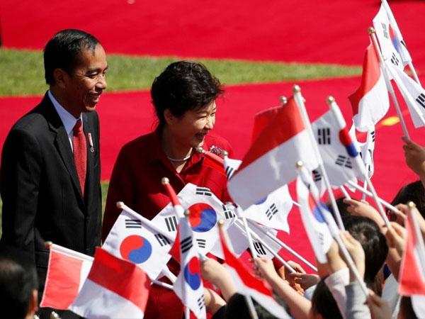 Alunan Angklung 'Bengawan Solo' Dimainkan Saat Pertemuan Pemimpin Asia di Korea Selatan
