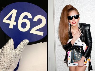 Lady Gaga Borong 55 Kostum Panggung Peninggalan Michael Jackson