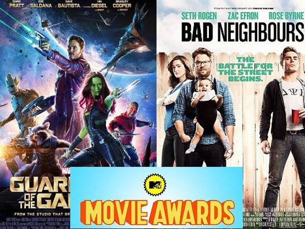 Didominasi 'Guardians of Galaxy' dan 'Neighbors', Ini Daftar Nominasi MTV Movie Awards 2015