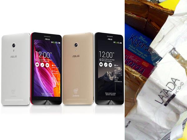 Beli Asus Zenfone 6 di Toko Online Malah Dapat Cairan Penyemprot Pakaian