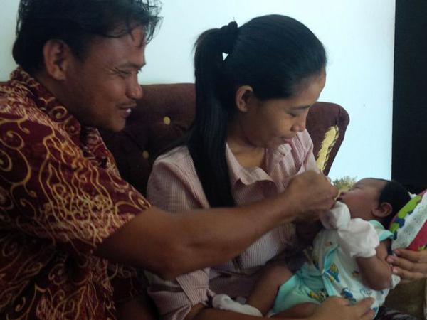 Cerita Dibalik Pemberian Nama Bayi Joko Widodo Ma'ruf Asal Sragen yang Viral