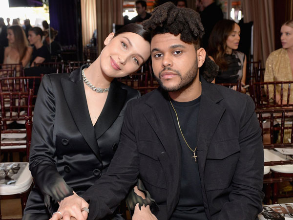 Tertangkap Ciuman Lagi, Bella Hadid dan The Weeknd Fix Balikan?