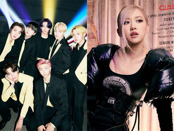 BTS dan Rose BLACKPINK Masuk Daftar Lagu Terbaik 2021 Pilihan Staf Billboard