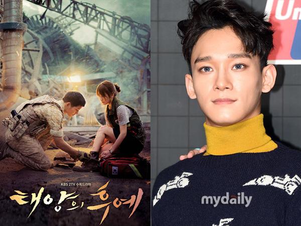 Chen EXO Sumbang Suara Indahnya untuk OST Pertama Drama 'Descendants of the Sun'