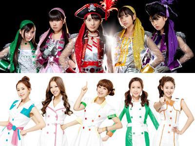 Crayon Pop Dituduh Tiru Kostum Panggung Girl Group Jepang Momoiro Clover Z?