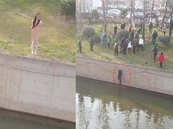 Selamatkan Wanita Telanjang yang Lompat ke Sungai, Pria Ini Malah Tak Dihiraukan Warga