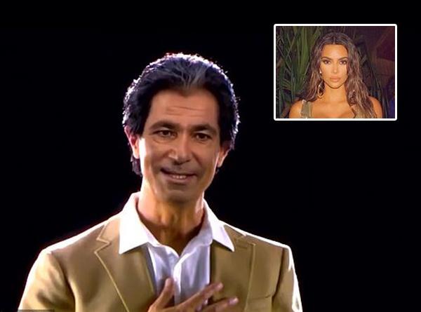 Menyentuh, Kim Kardashian dapat Ucapan Ultah dari Mendiang Ayah Lewat Hologram