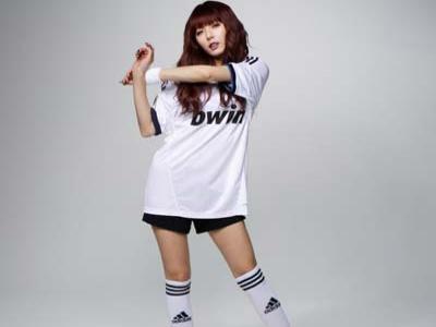 HyunA 4minute Jadi Model Game FIFA Online 3