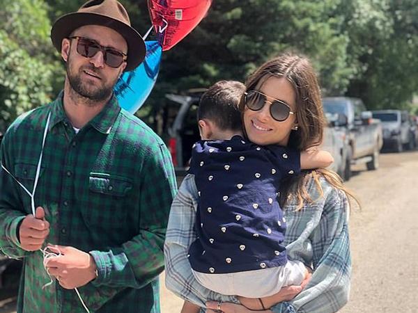 Rahasiakan Kehamilan, Jessica Biel Lahirkan Anak Kedua Justin Timberlake