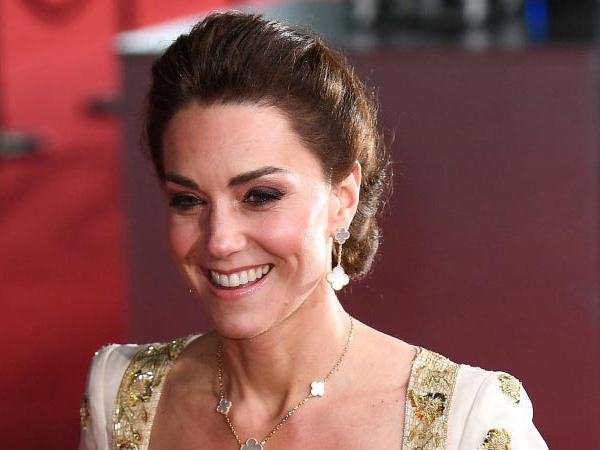 Curi Perhatian, Kate Middleton Kenakan Gaun Lama di BAFTA 2020