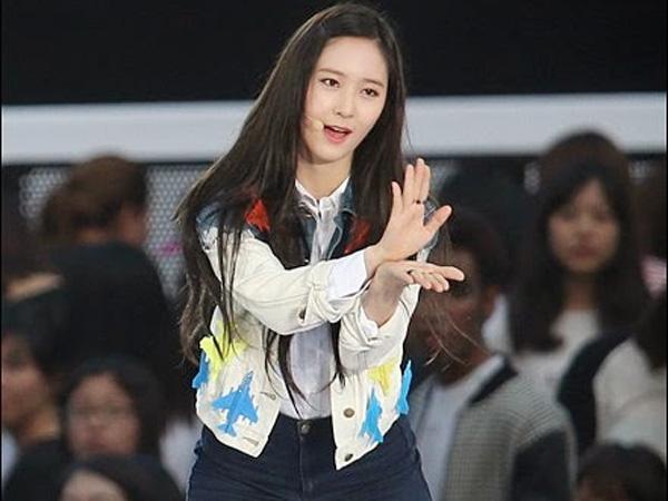 Duh, Krystal f(x) Pingsan di Konser SMTOWN Shanghai?