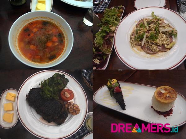 Menikmati Sajian Menu Daging Australia di Restoran Bergaya Paris, Le Quartier Jakarta