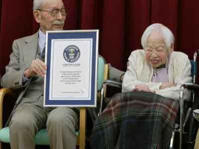 Misao Okawa Jadi Wanita Tertua di Dunia