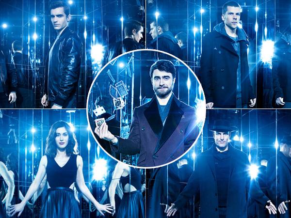 Kalahkan Pemeran Utama, Daniel Radcliffe Rebut Perhatian di Poster 'Now You See Me 2'