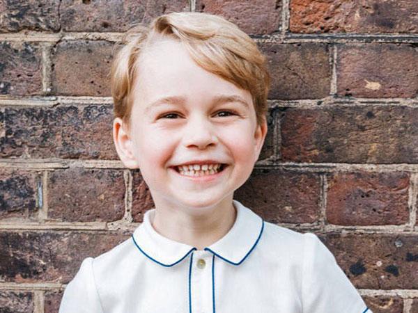 Kerajaan Inggris Rilis Foto Terbaru Pangeran George di Usia Kelima!