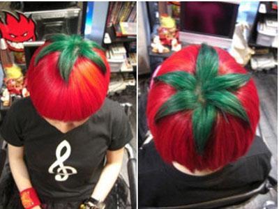 Di Jepang Kini Ngetren Gaya Rambut Tomat
