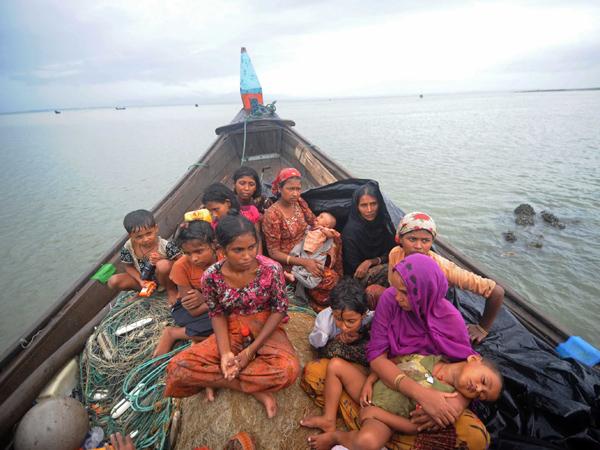 Kelaparan Dan Dipukuli, Inilah Kondisi Pengungsi Rohingya Di Perairan Thailand
