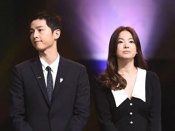 Song Hye Kyo dan Song Joong Ki Dinyatakan Resmi Cerai