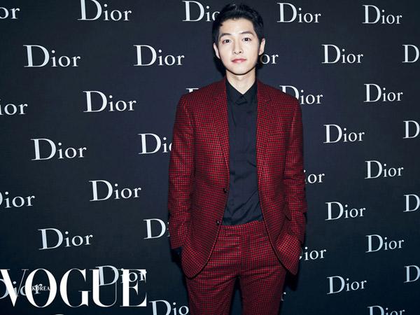 Kalahkan Yoo Jae Suk Hingga GD, Song Joong Ki Jadi Orang Paling Berpengaruh di Dunia Hiburan