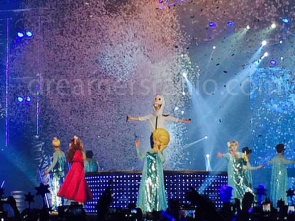 Ketika Super Show 6 Jakarta Juga Jadi Ajang Kontes Pencarian Elsa 'Frozen' Kedua