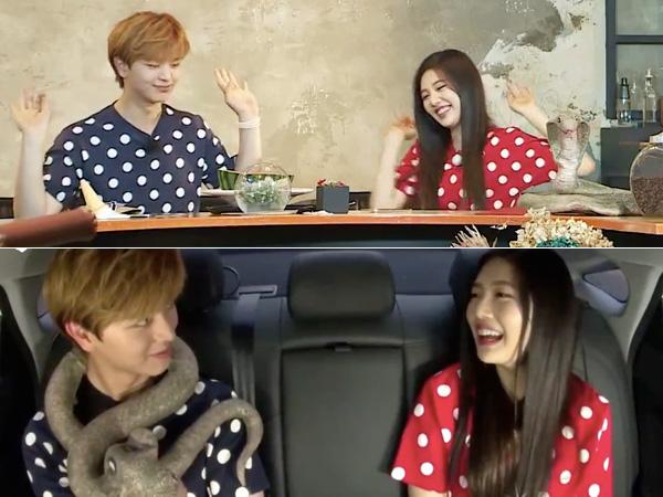 Pertama Bertemu, Sungjae BTOB dan Joy Red Velvet Kenakan Baju Kembar di 'We Got Married'