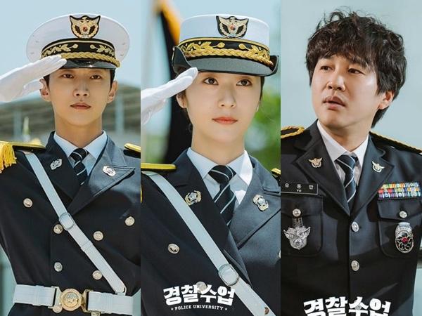 Cha Tae Hyun, Krystal dan Jinyoung B1A4 Bagikan Pemikiran Tentang Drama 'Police University'