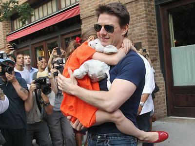 Tom Cruise Akhirnya Bertemu Dengan Putrinya