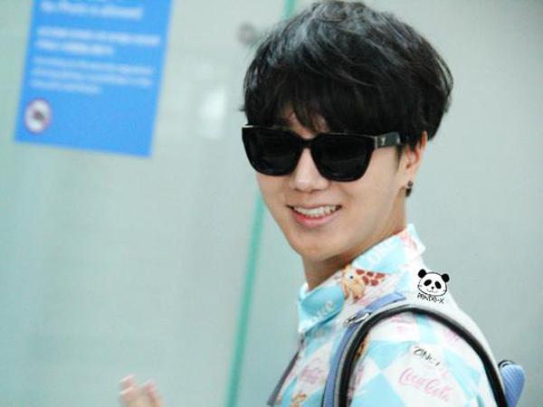 Ulah Penggemar Buat Yesung Super Junior Risih Saat Tiba di Jakarta