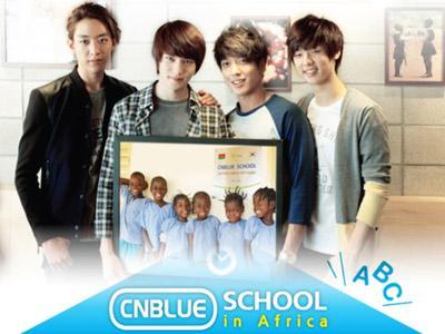 CN Blue akan Kembali Dirikan 'CN Blue School' di Afrika