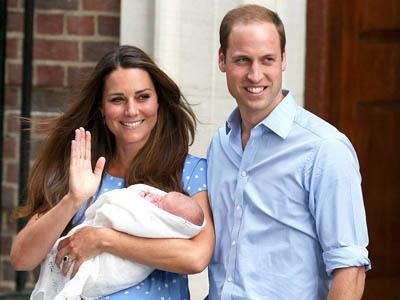 Pangeran William dan Kate Middleton Bagi Waktu Ganti Popok George