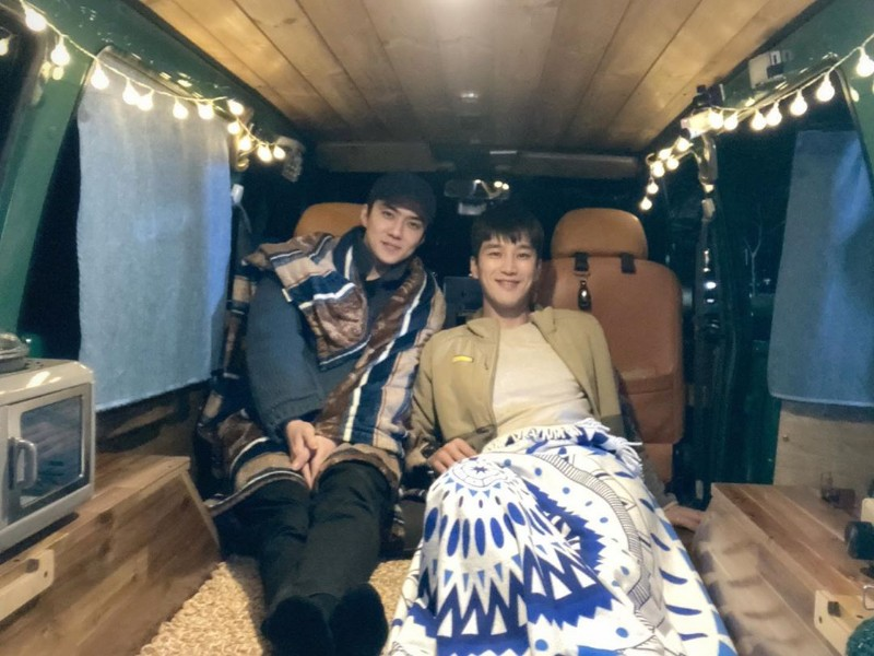Ahn Bo Hyun Unjuk Persahabatan dengan Camping Bareng Sehun EXO